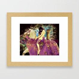 Lady Godiva Framed Art Print