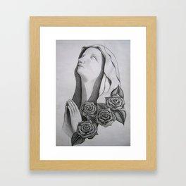 Ave Rosita Framed Art Print