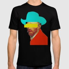 I wanna be a cowboy 3 Black LARGE Mens Fitted Tee