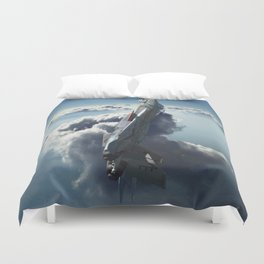 Sea of Light Duvet Cover