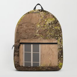 Worn Wall in Old Town #decor #society6 #buyart Backpack