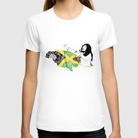 jamaica T-shirts featuring Jamaica -  Freedom Time by Art & Be