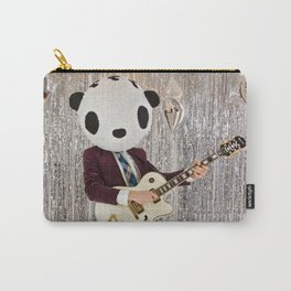 Peter Panda Rocking Out Carry-All Pouch