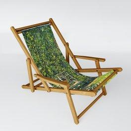 """Gustav Klimt """"The House of Guardaboschi"""" Sling Chair"""