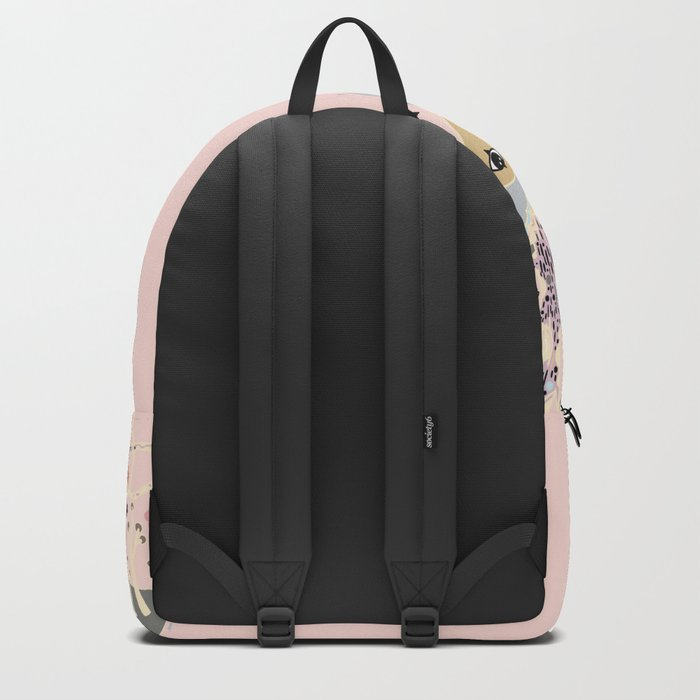 Pink Woods Backpack