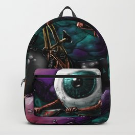BMX eyeball. Backpack