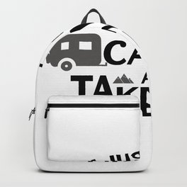 Taking Naps Camping Camper Funny Backpack