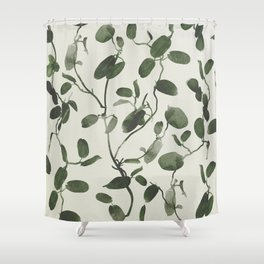 Hoya Carnosa / Porcelainflower Shower Curtain