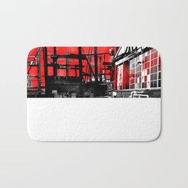 Red-Wat-Shod Bath Mat