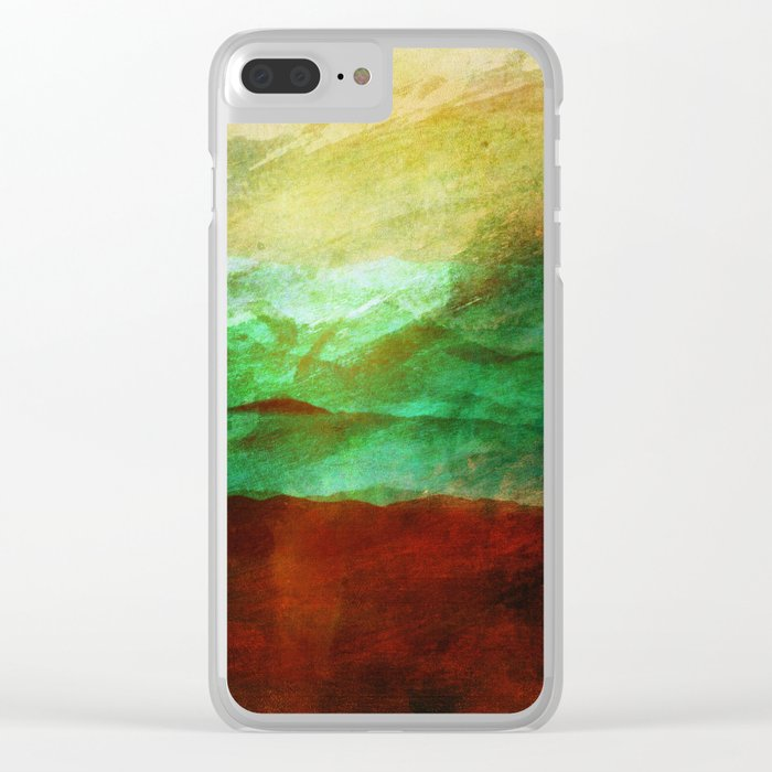 Scattered Dreams... Clear iPhone Case