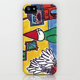 Clapping Hands are Waiting iPhone Case