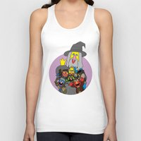 elmo Tank Tops featuring Can you tell me how to get to Erebor? by Mhyin