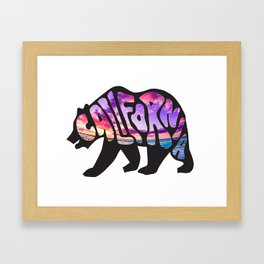 Cali Framed Art Print