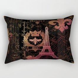 Paris: La Tour Eiffel Rectangular Pillow