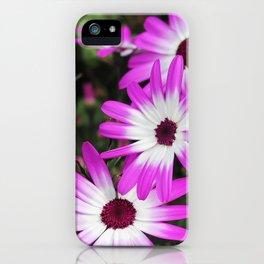 violet flowers iPhone Case
