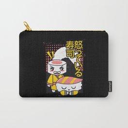 Angry Uramaki sushi yelling at Nigiri Carry-All Pouch