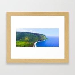 WAIPI'O VALLEY Framed Art Print