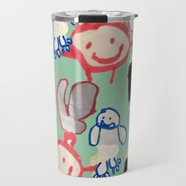 Little Monsters by Brody Travel Mug