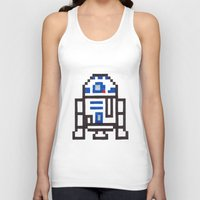 r2d2 Tank Tops featuring r2d2 by Walter Melon