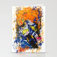 moto Stationery Cards featuring Moto Splash by Joshua Meno