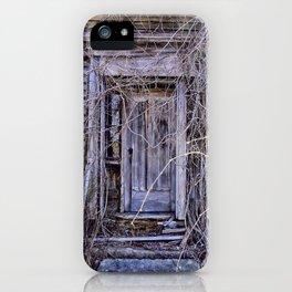 The Door To Nowhere. iPhone Case