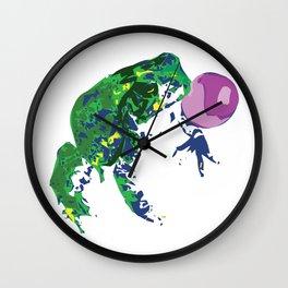 Frog Pop Wall Clock