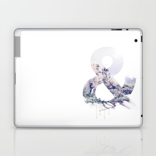 Ampersand Laptop & iPad Skin