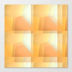 Sunshine Ripples Canvas Print