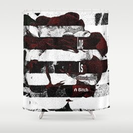 Love is...A Shower Curtain
