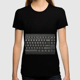 Keyboard Typewriter-style Device Arrangement Keys Switches Technology Input T-shirt