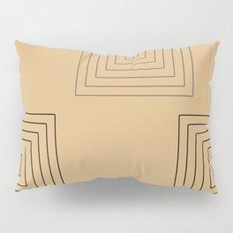 Baesic Retro Rectangles Sunshine Pillow Sham