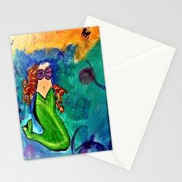 Headless Mermaid Stationery Cards