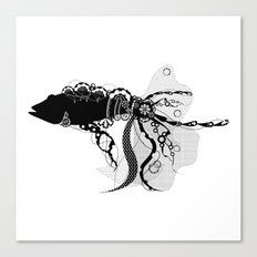 Lacy Fish Canvas Print