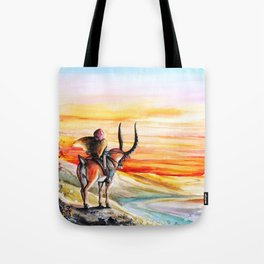 """Sunset"" Tote Bag"