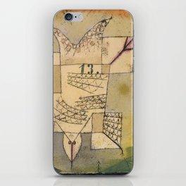 Falling Bird iPhone Skin