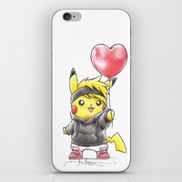 projectrocket iPhone & iPod Skins featuring iHeart Birdychu by Randy C