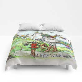 Little Witch Vacation Comforters