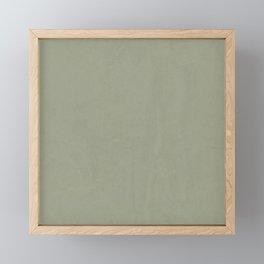 Simply Green Tea Framed Mini Art Print