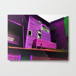 Argentina el caminito color street Metal Print