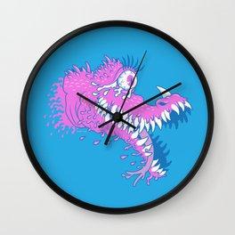 One Eyed Bubblegum Beast Wall Clock
