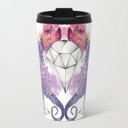 Seahorse Meltdown - Purple/Pink Travel Mug
