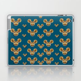 Cartoon animals in gold and silver gift decorations Laptop & iPad Skin