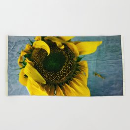 inspiration in simple things Beach Towel