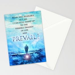 Jordan Peterson Quote - Prevail! Stationery Cards