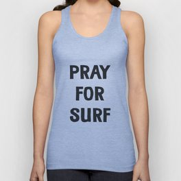 Pray For Surf Unisex Tank Top