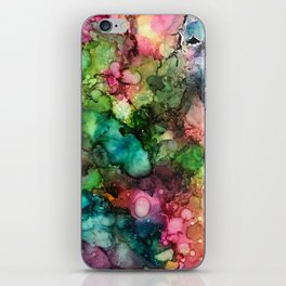 Abstract Fluid Ink iPhone Skin