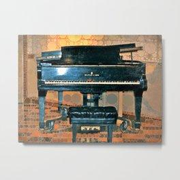 Ol' Grand Piano Metal Print