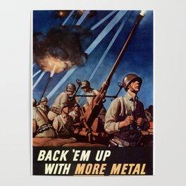 Back em up Poster