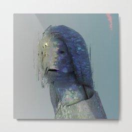 Delicate Portrait No. 1 Metal Print