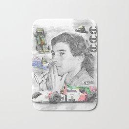 Ayrton Senna Bath Mat